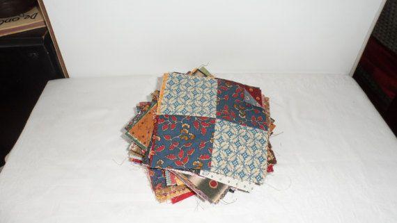 68  4 1/2 Pioneer Fabric 4 Patch Blocks/100 Percent Four