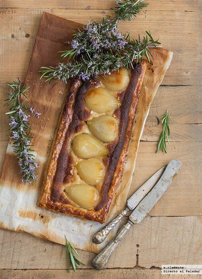 Tarta de peras con crema de almendra. Receta http://paraadelgazar.ws/tarta-de-peras-con-crema-de-almendra-receta/