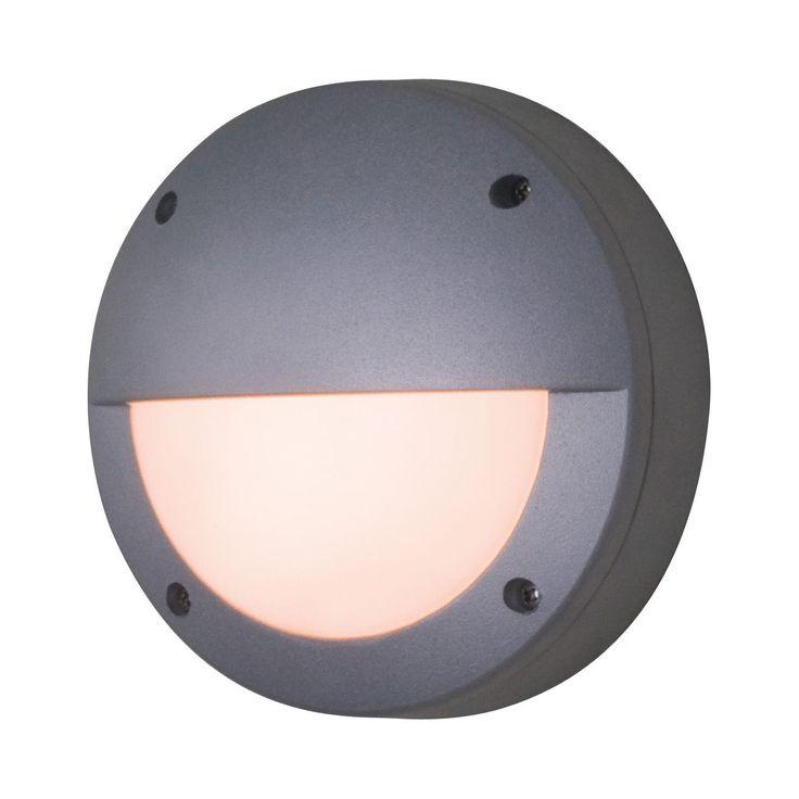 EEK A++, LED Außen-Wand- Deckenleuchte 1-flammig - Grau Aluminium, Näve Jetzt bestellen unter: https://moebel.ladendirekt.de/lampen/deckenleuchten/deckenlampen/?uid=d90c0ee3-e5b6-54a4-9daf-1346eb07a68f&utm_source=pinterest&utm_medium=pin&utm_campaign=boards #deckenleuchten #näve #leuchten #lampen #deckenlampen #garten #außen #außenleuchten