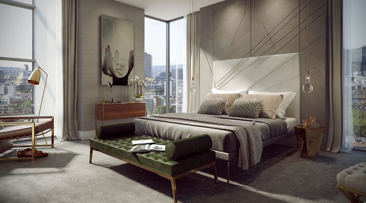 Luxurious & Inspiring Penthouses #decordormitordelux