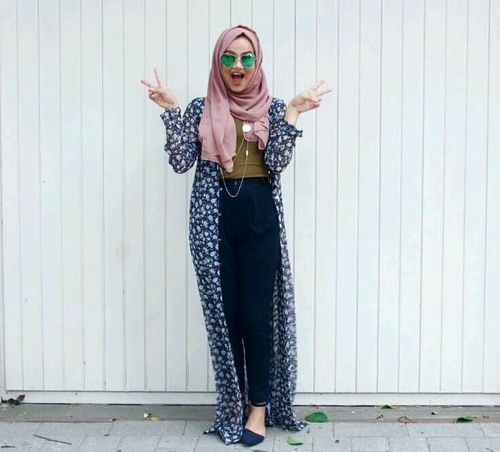 crazy, fashion, and hijab image