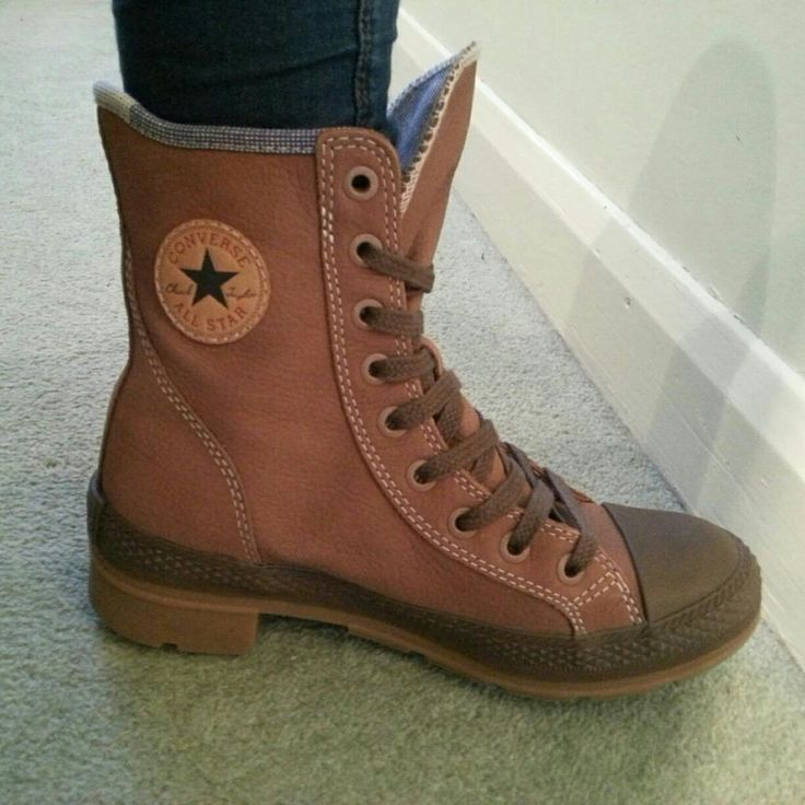 Converse boots.. when did this happen? Can't decide if they are really ugly or cute.