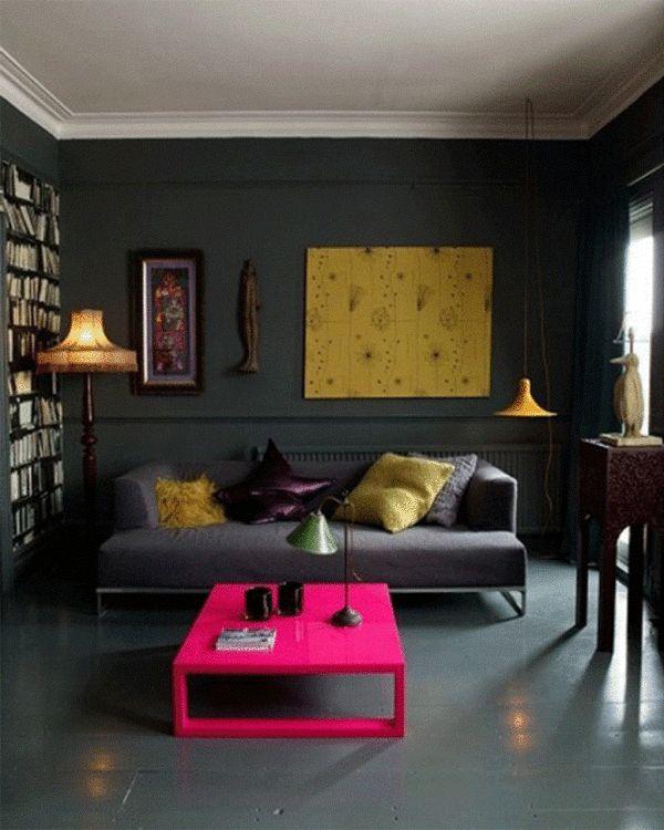 2014 Black Wall Interior Design Ideas (8)