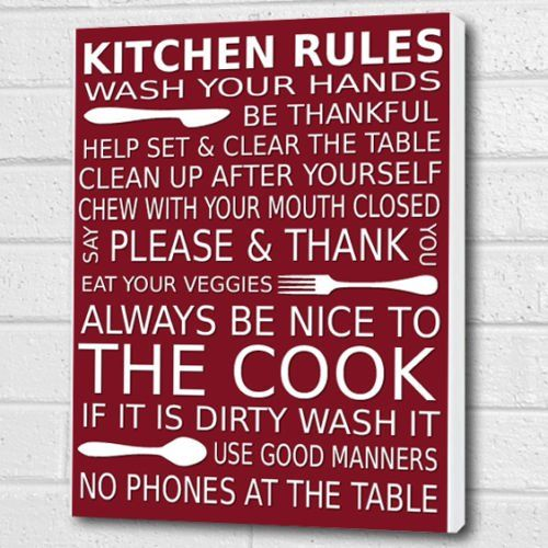 12 Best Kitchen Wall Canvas Prints Images On Pinterest