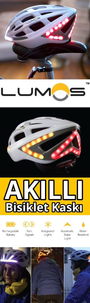 Akıllı bisiklet kaskı, Lumos Helmet. A Next Generation Bicycle Helmet.