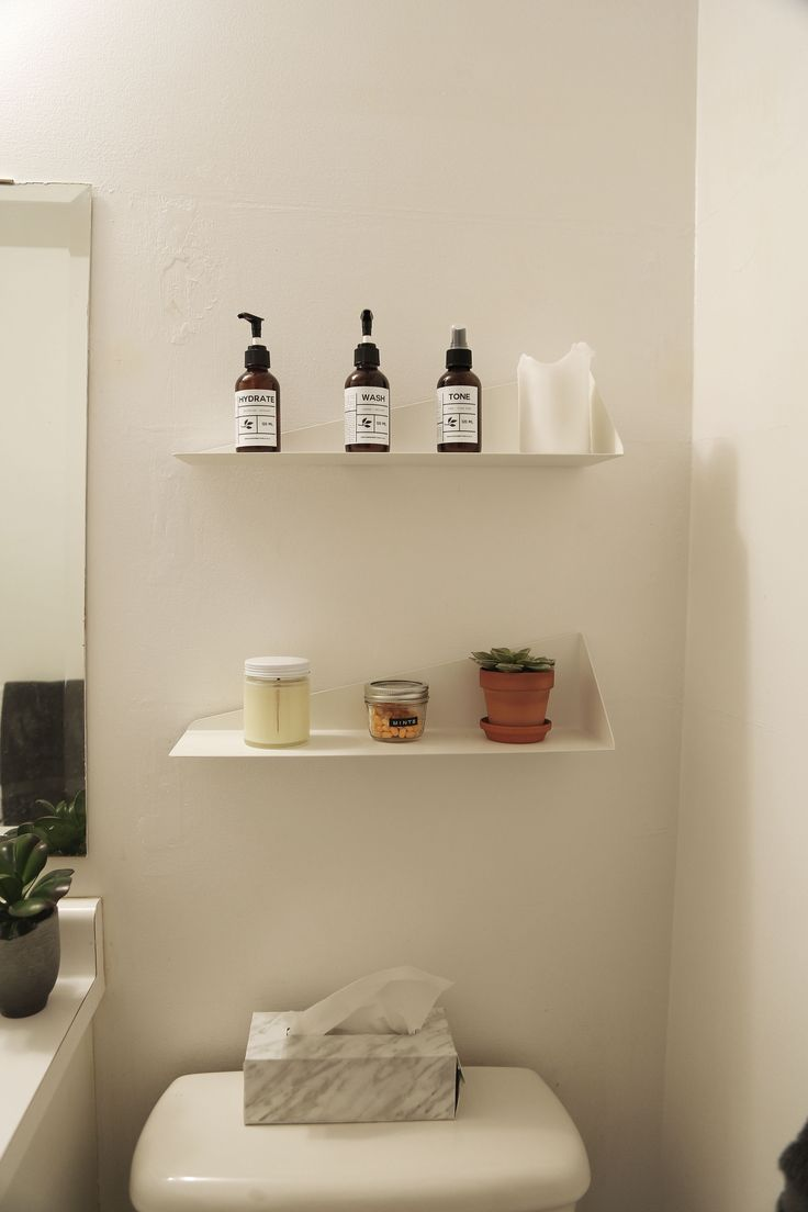 In the bathroom while taking a shower or a well deserved bubble bath - The Stealth Shelf Is A Great Substitute To A Big Bulky Storage Unit In A Bathroom It Looks Clean And Airy While Still Being Practical