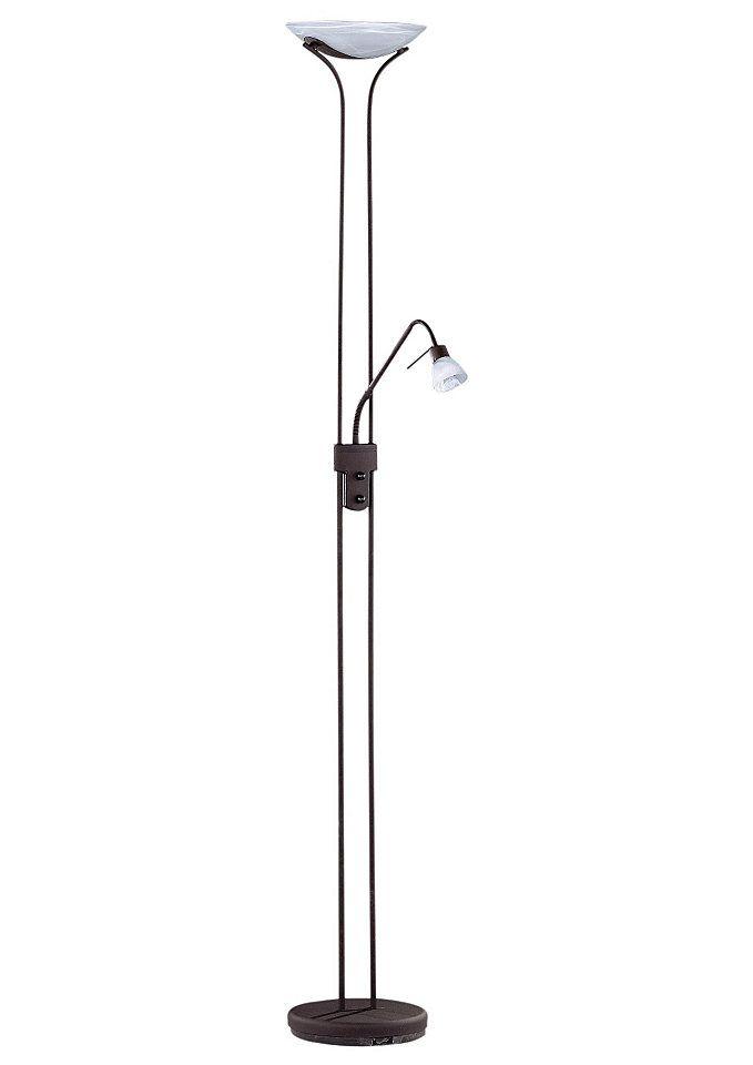 Halogen-Deckenfluter, Trio, dimmbar, inkl. Leuchtmittel, in 3 Farben Jetzt bestellen unter: https://moebel.ladendirekt.de/lampen/stehlampen/deckenfluter/?uid=47ca204d-25ed-55e5-aac4-9a9ce283d4d1&utm_source=pinterest&utm_medium=pin&utm_campaign=boards #stehlampen #lampen #deckenfluter