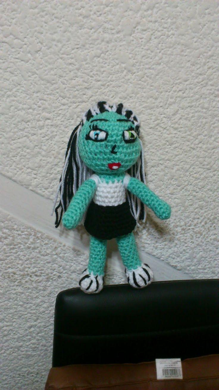 Amigurumi Monster High : Les 31 meilleures images ? propos de Crochet Amigurumi sur ...