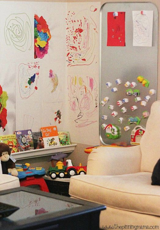 Not All Of Us Have Enough Space To Give The Kids Their Own Playroom. Check