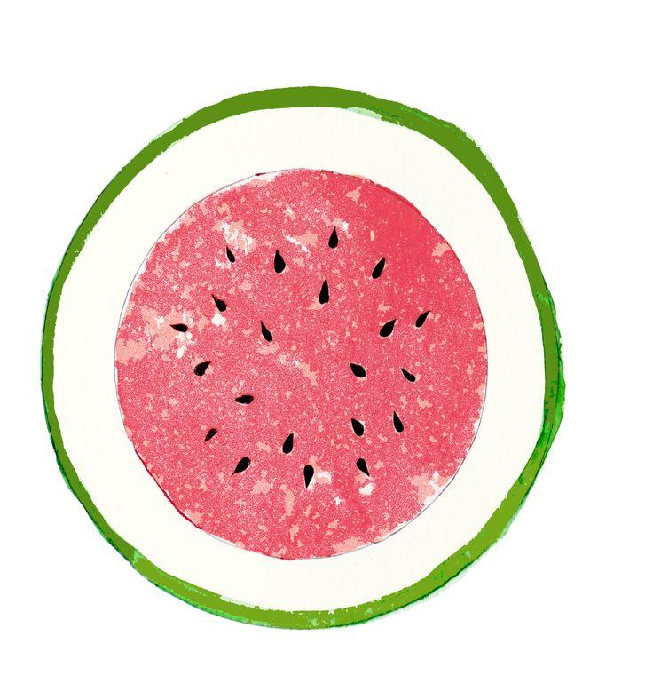 Watermelon Print © Le Tropique Studios