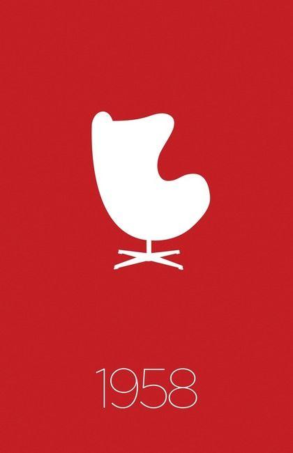 Modern Furniture Classic 1958 Egg Chair