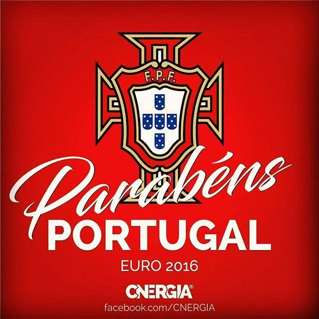 Parabéns PORTUGAL! CAMPEÕES EURO 2016! #euro2016 #PORTUGAL