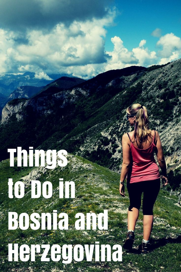 Going to Bosnia and Herzegovina? These are the best things to do in the country. Get ready for adventure of a lifetime!