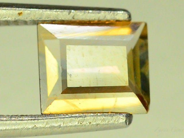 Extreme Rare 0.595 ct Natural Axinite ~ Durand Line