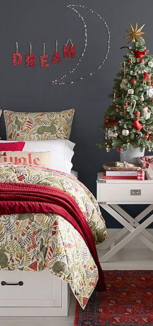 Reversible Christmas Bedding #christmas Christmas in 2018