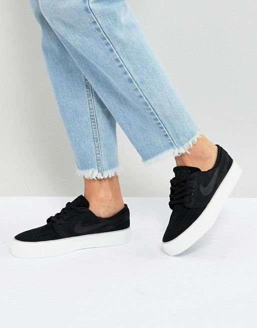 41ffd4d0b040 Nike Sb Zoom Janoski Ht Trainers In Black