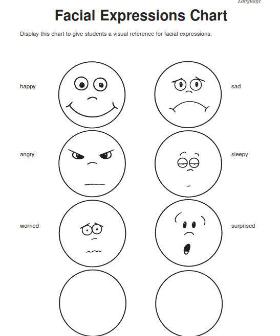 Emotions Worksheets For Kindergarten Worksheets For All