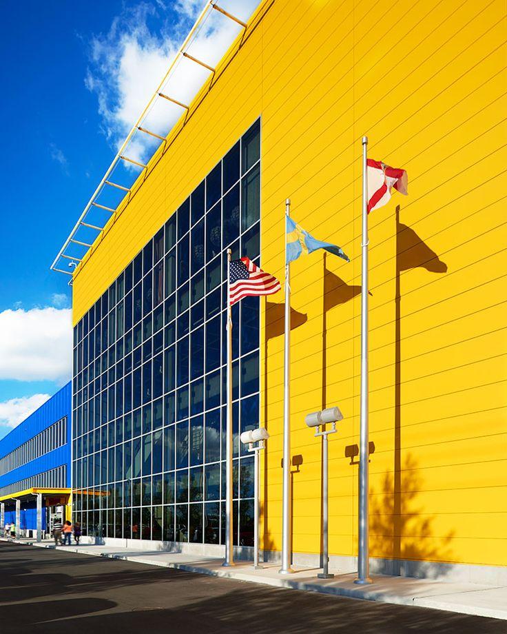 Kingspan Metal Panel Yellow