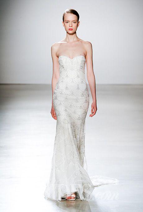 Brides: Kenneth Pool Wedding Dresses   Spring 2016   Bridal Runway Shows   Brides.com | Wedding Dresses Style