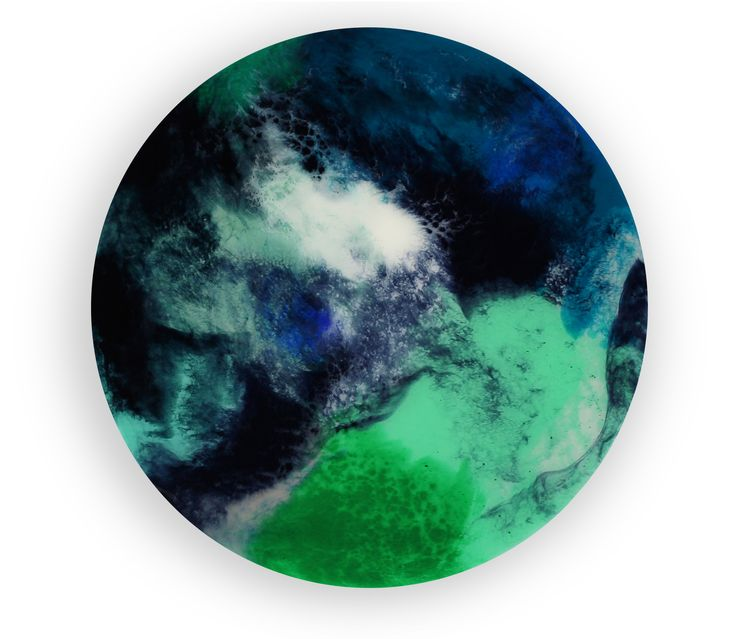 30cm circle resin artwork Abstract art Resin art