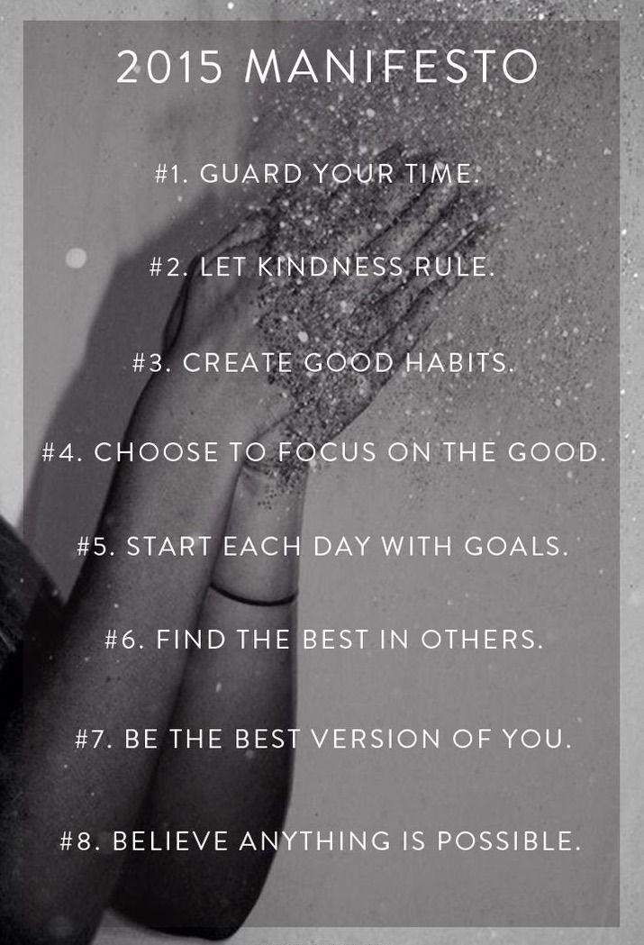 audreylovesparis:  2015 Manifesto       (via TumbleOn)