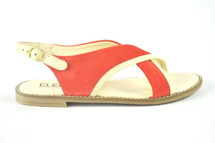 Elena Shoes Made In Italy - Spring Summer Collection - Collezione Primavera Estate - Sandal - Sandalo - Corallo - Coral - Fashion - Glamour