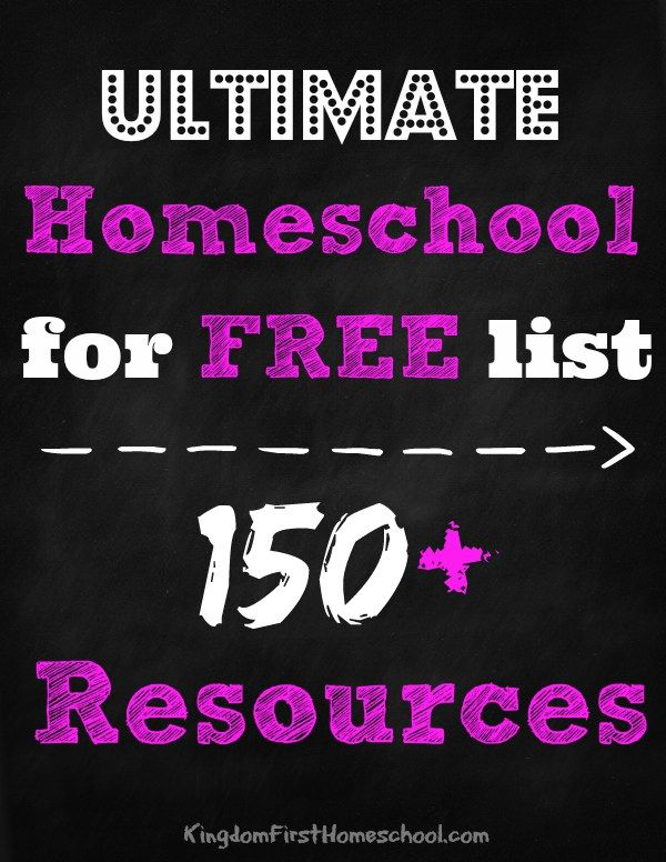 Homeschool for free - Homeschooling curriculum can get pricey. The cost of books and supplies seems to be going up every year. If you homeschool you do not have to break the bank to pay for a quality education for your kids. Here is a huge list of awesome and free homeschool curriculum and resources by grade and subject.