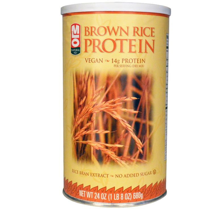 MLO Natural, Brown Rice Protein Powder, only use this when I have no time to cook, makes a quick berry smoothy.