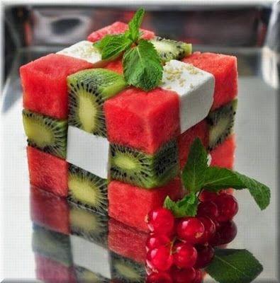 dessert idea : Dessert Cube