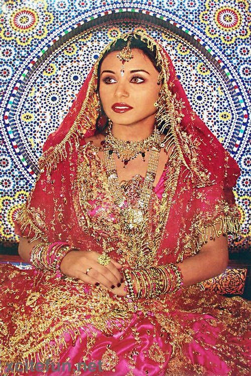 Rani Mukherjee wedding dress