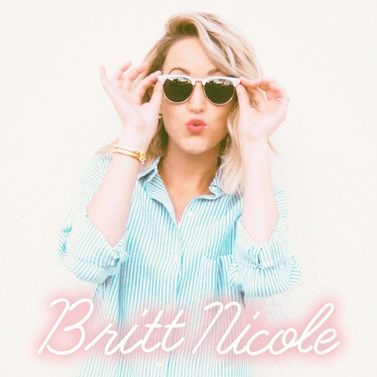 Britt Nicole Signed Poster