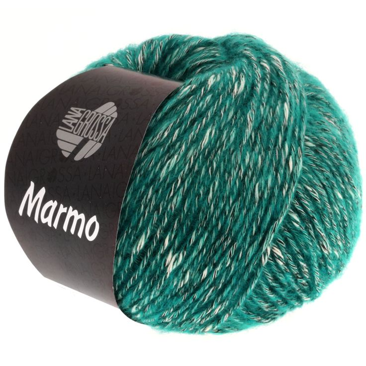 MARMO 007-petrol / raw white / black brown
