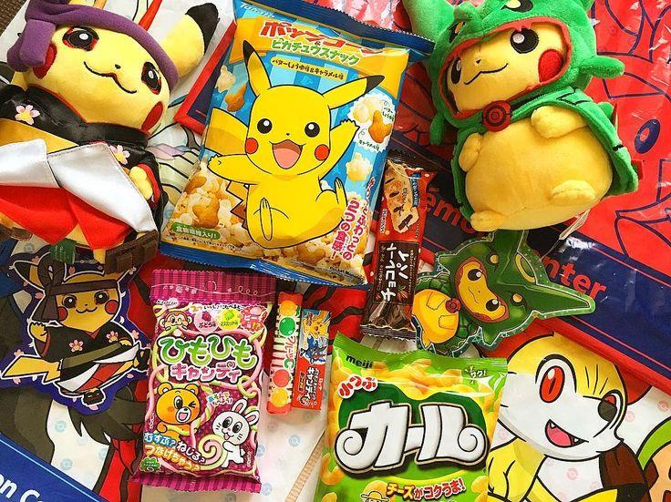 """La caja Ninja!  Recopilando que nos trae la caja NINJA del mes!  Los """"PIKACHU guardianes"""" serán sorteados muy próximamente.  Comparte con todos tus amigos si quieres mas sorteos de Box From Japan. A solo 13 USD/M podrás llevarte todas las golosinas que ves aquí.  Mas info:  www.boxfromjapan.com  #BoxFromJapan #BFJNinja #Pikachu #PikachuMatsuri #BFJ #pokemoncenter #pokemon"""