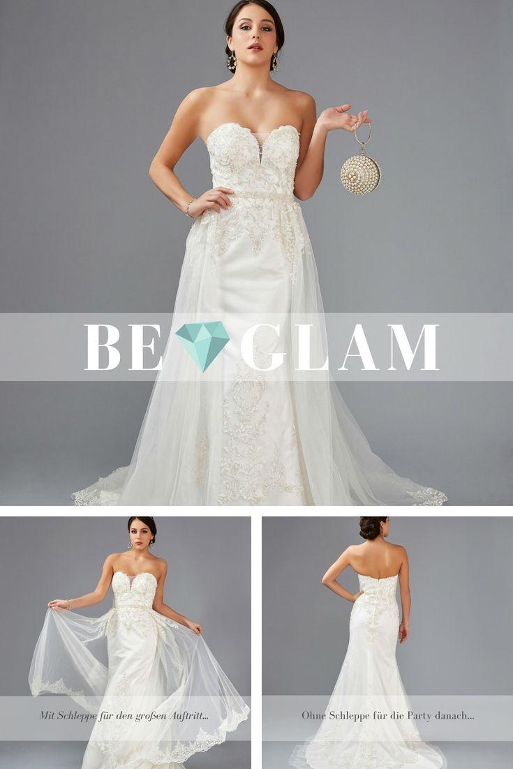 Hochzeitskleid 10 aus der BE GLAM Linie der Weise Ceremony