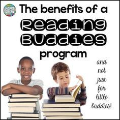 Reading Buddies: The benefits of a Reading Buddies program by That Fun Reading Teacher