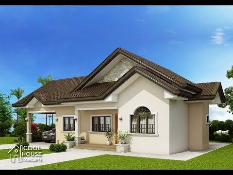 5 Bungalow House Design With 3 Bedrooms And 2 Bathrooms Floor Plans Included Youtube Modern Bungalow House Contemporary House Plans Bungalow House Plans