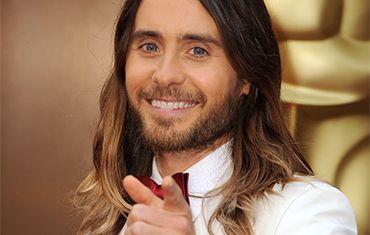 Dreamworthy waves via @Vidal Sassoon and #ChaseKusero for Jared Leto's winning Oscar look