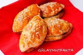 gülay mutfakta: Labneli Poğaça