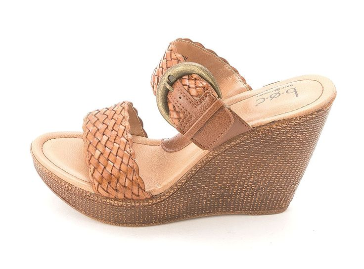 B.O.C Women's Karalee Slide Platform Wedge Sandals ** Find out more about the great product at the image link.