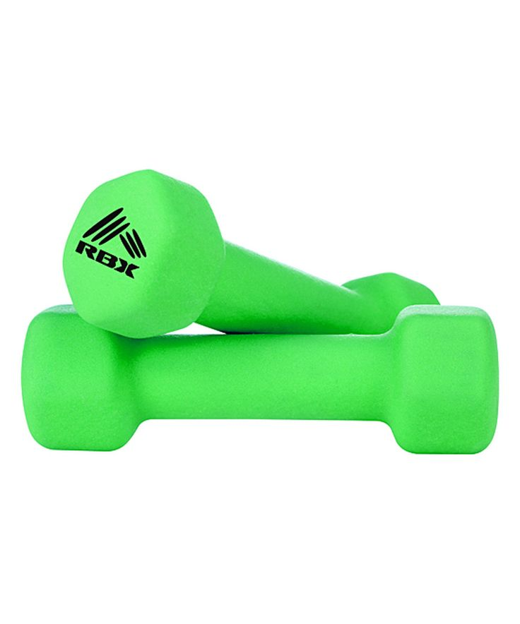 Look at this #zulilyfind! Green 2-Lb. Hand Weight - Set of Two by RBX #zulilyfinds