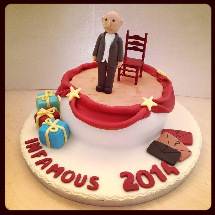 Derren Brown Infamous Cake #cake
