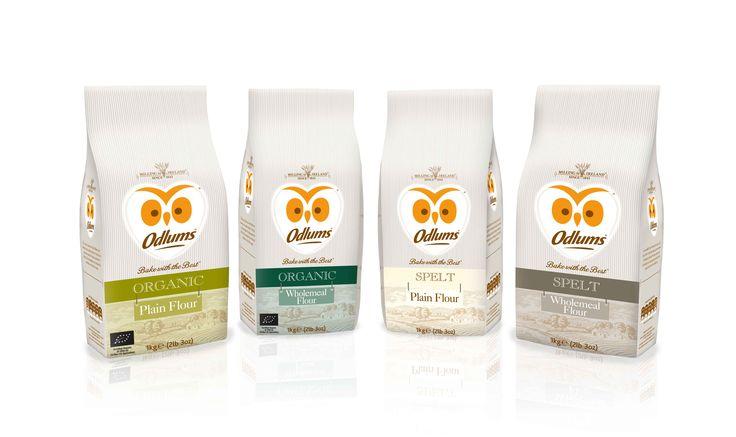 Odlums Spelt & Organic Flour by Mesh Design www.meshdesign.ie