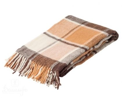 Купить плед из новозеландской шерсти РУНО ПИРОСМАНИ-17 140х200 от производителя Руно (Россия)