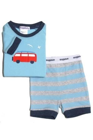 Kombi Stripe Shortjohn