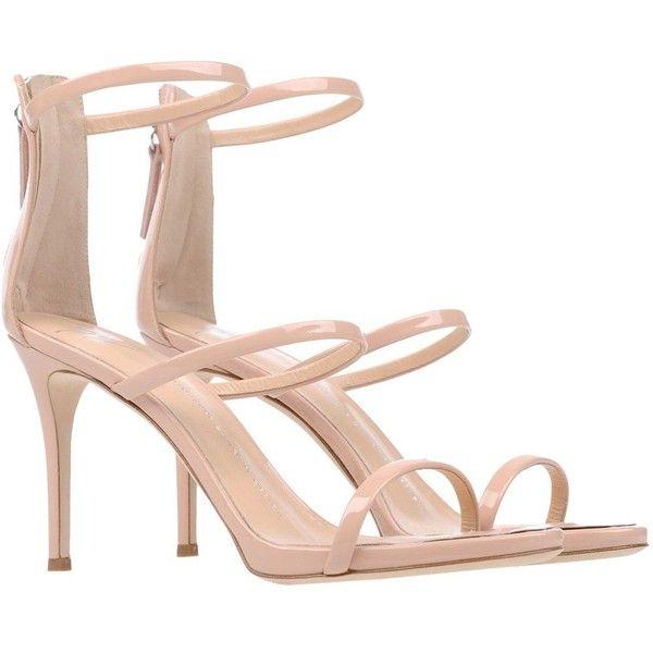 GIUSEPPE ZANOTTI DESIGN Sandals (1.850 BRL) ❤ liked on Polyvore featuring shoes, sandals, giuseppe zanotti sandals, giuseppe zanotti and giuseppe zanotti shoes