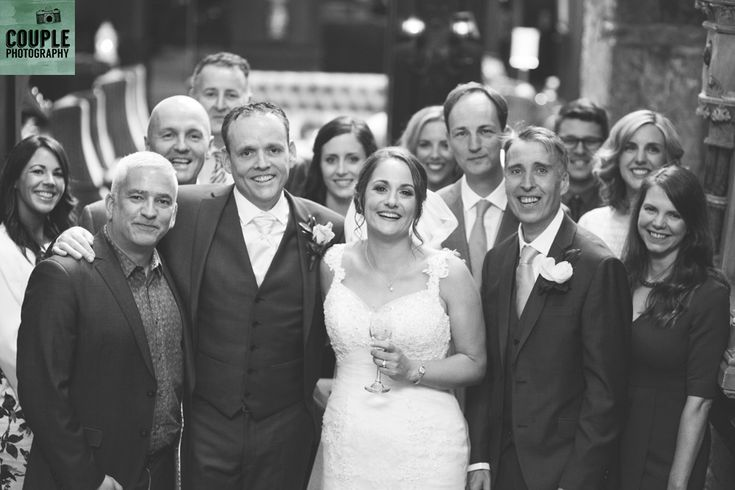Guests enjoying themselves! Weddings at Clontarf Castle Hotel by Couple Photography.