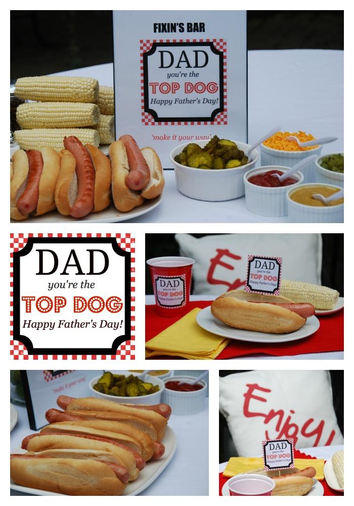 father's day barbecue menu ideas