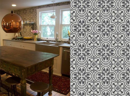 75 best floor images on Pinterest Cement tiles Tiles and Kitchen