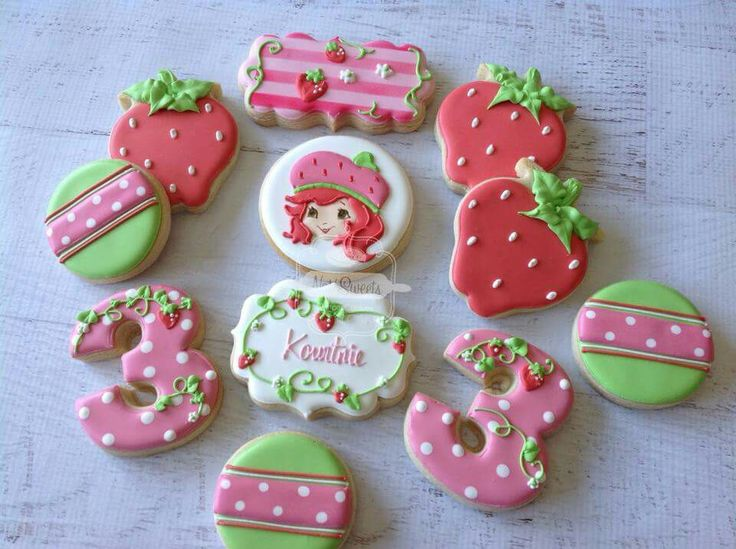 282 best Strawberry Shortcake Cakes, Cupcakes and Cookies ...
