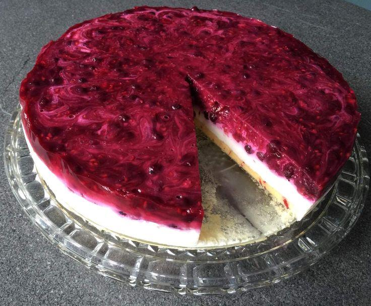 Rezept Beeren-Grütze-Torte für Figurbewusste von Hannebue - Rezept der Kategorie Backen süß
